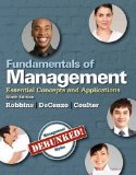 Fundamentals of Management Essential Concepts and Applications 9th 2015 9780133499919 Front Cover