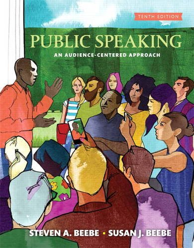 Public Speaking:   2017 9780134380919 Front Cover