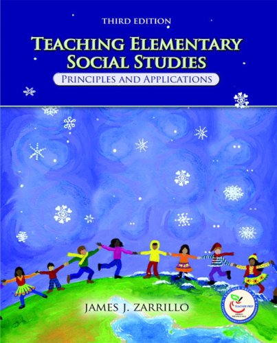 Teaching Elementary Social Studies Principles and Applications 3rd 2008 edition cover