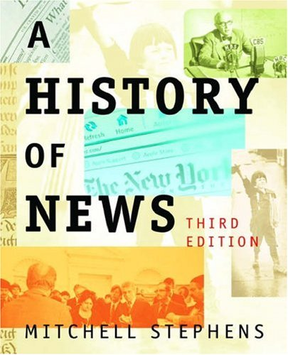 History of News  3rd 2006 (Revised) edition cover