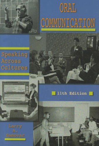 Oral Communication Speaking Across Cultures 11th 2000 edition cover