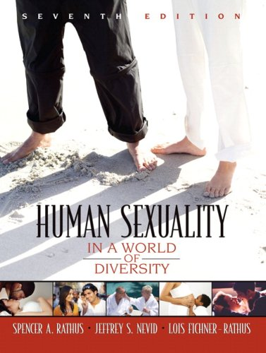 Human Sexuality in a World of Diversity  7th 2008 edition cover