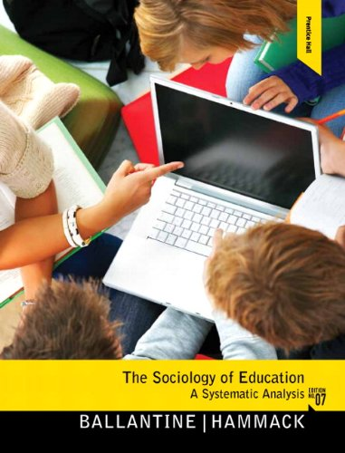 Sociology of Education  7th 2011 (Revised) edition cover