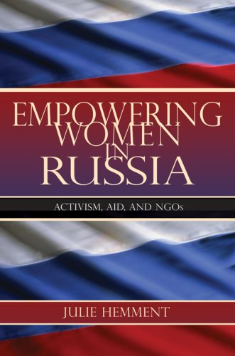 Empowering Women in Russia Activism, Aid, and NGOs  2007 edition cover