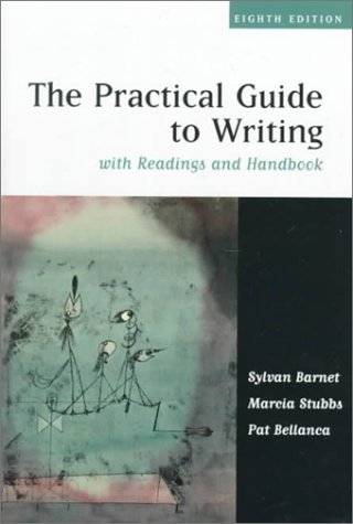 Practical Guide to Writing with Readings and Handbook  8th 2000 edition cover