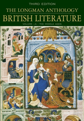 Longman Anthology of British Literature, Volume 1A The Middle Ages 3rd 2006 (Revised) edition cover