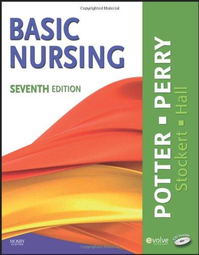 Basic Nursing  7th 2010 edition cover
