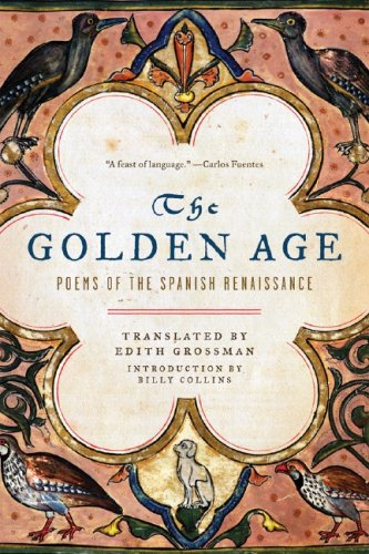 Golden Age Poems of the Spanish Renaissance  2007 edition cover