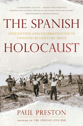 Spanish Holocaust Inquisition and Extermination in Twentieth-Century Spain N/A edition cover