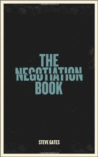 Negotiation Book Your Definitive Guide to Successful Negotiating  2010 edition cover