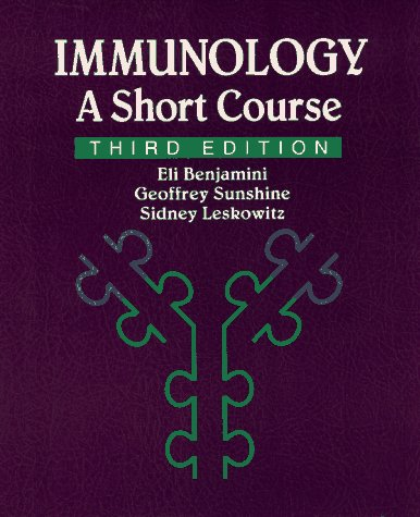 Immunology A Short Course 3rd 1996 9780471597919 Front Cover