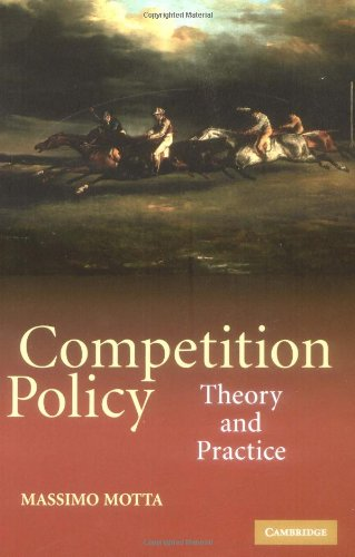 Competition Policy Theory and Practice  2004 edition cover