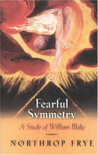 Fearful Symmetry A Study of William Blake  1969 edition cover