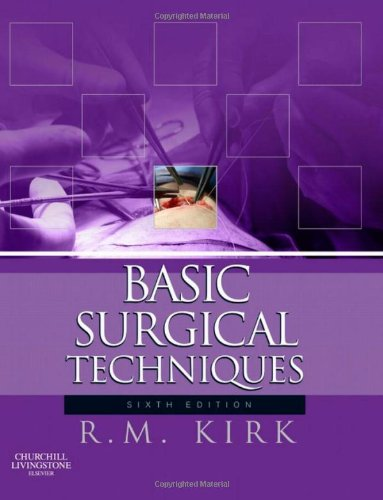 Basic Surgical Techniques  6th 2010 edition cover