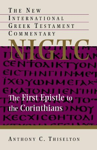 First Epistle to the Corinthians   2013 edition cover