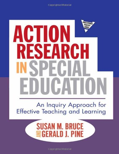 Action Research in Special Education An Inquiry Approach for Effective Teaching and Learning  2010 edition cover