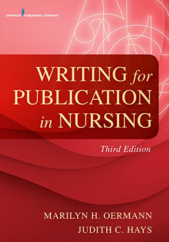 Writing for Publication in Nursing   2015 edition cover