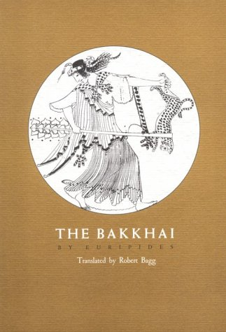 Bakkhai   1978 edition cover