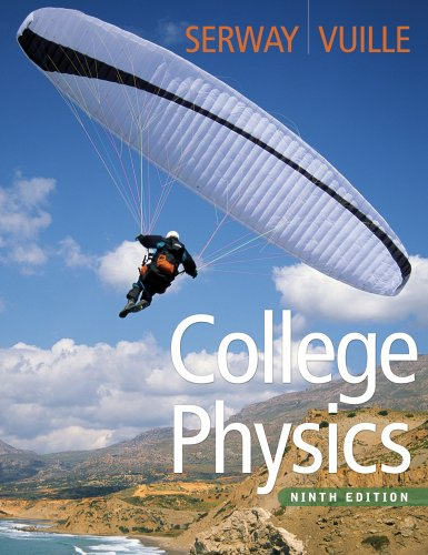 Bundle: College Physics, 9th + Physics CourseMate with EBook Printed Access Card  9th 2012 9781111999919 Front Cover