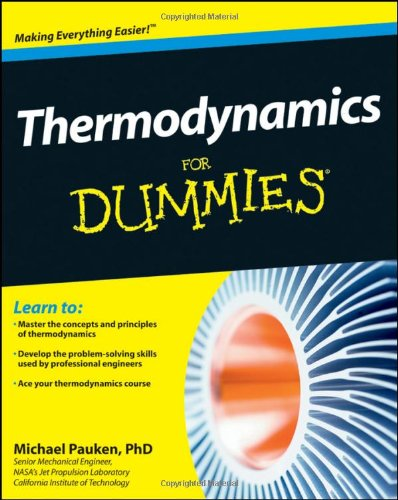 Thermodynamics for Dummies   2011 9781118002919 Front Cover
