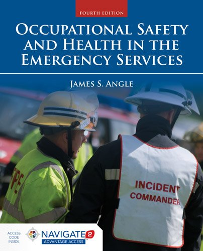 Occupational Safety and Health in the Emergency Services  4th 2016 edition cover