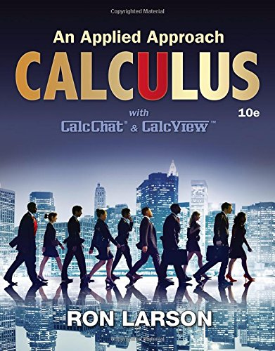 Calculus: An Applied Approach  2016 9781305860919 Front Cover