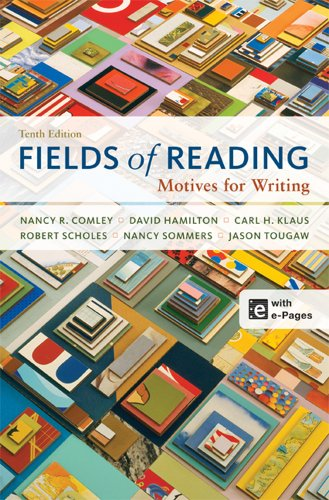 Fields of Reading Motives for Writing 10th 2012 edition cover