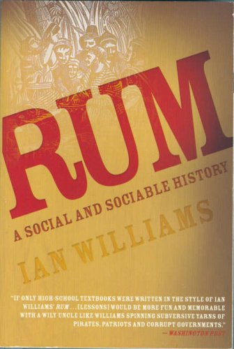 Rum A Social and Sociable History of the Real Spirit of 1776 N/A edition cover