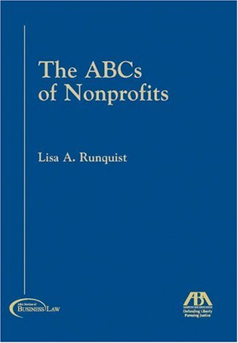 ABCs of Nonprofits   2005 edition cover