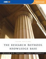 Research Methods Knowledge Base  3rd 2007 edition cover