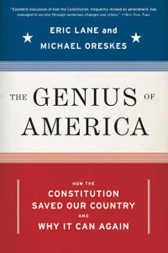 Genius of America How the Constitution Saved Our Country - And Why It Can Again N/A edition cover