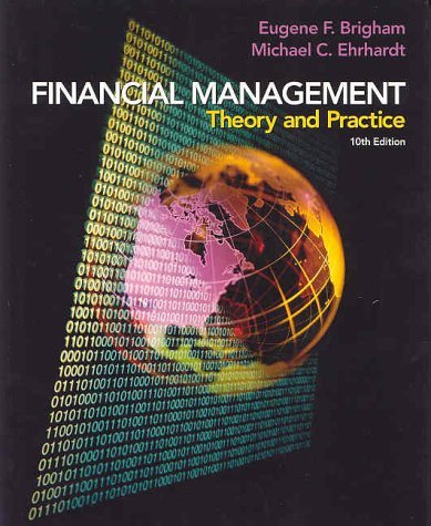Financial Management Theory and Practice 1st 2001 edition cover