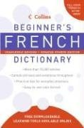 Collins Beginner's French Dictionary  4th 9780061374920 Front Cover