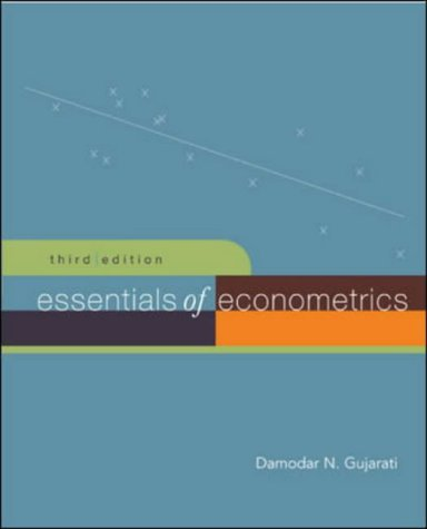 Essentials of Econometrics 3rd 2006 edition cover