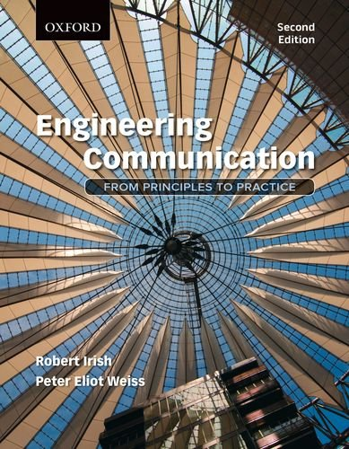 Engineering Communication From Principles to Practice 2nd 2013 edition cover