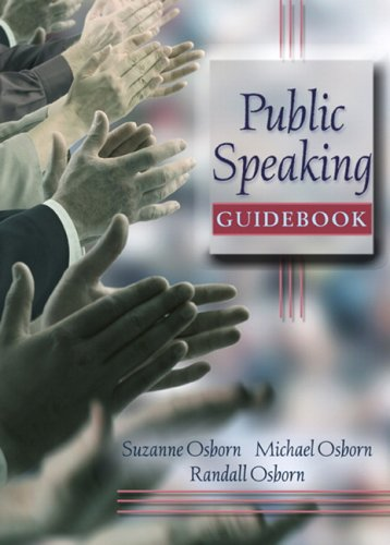 Public Speaking Guidebook   2008 edition cover
