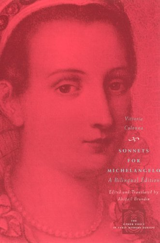 Sonnets for Michelangelo A Bilingual Edition  2005 9780226113920 Front Cover