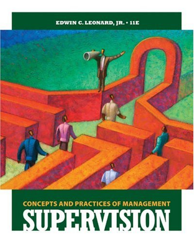 Supervision Concepts and Practices of Management 11th 2010 edition cover