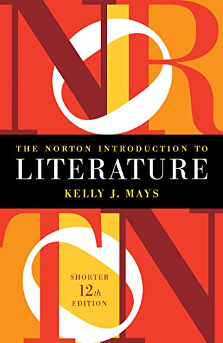 The Norton Introduction to Literature:   2015 9780393938920 Front Cover