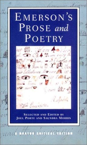 Emerson's Prose and Poetry   2001 edition cover