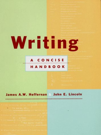 Writing A Concise Handbook  1997 edition cover