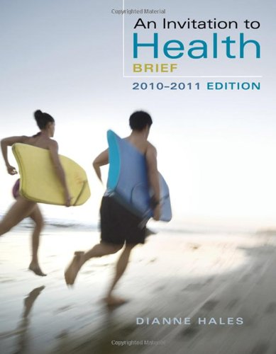Invitation to Health, Brief Edition (with Personal Health Self Assessments)  6th 2008 edition cover