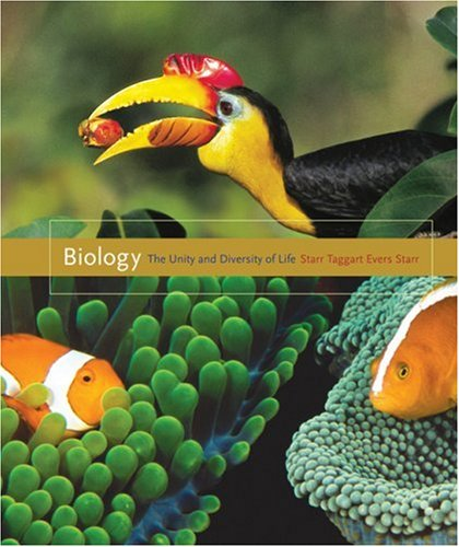 Biology The Unity and Diversity of Life 12th 2009 edition cover
