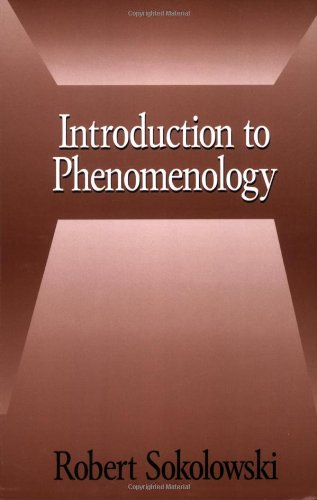 Introduction to Phenomenology   2000 edition cover