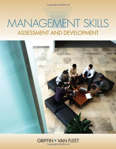 Management Skills Assessment and Development  2014 edition cover