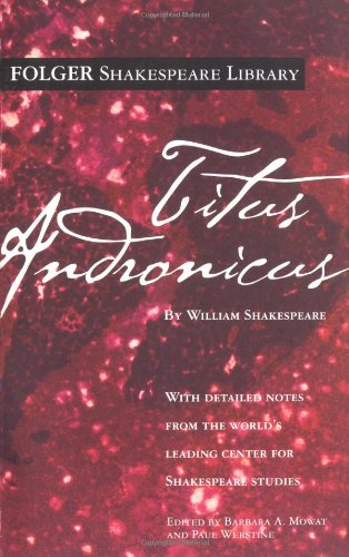 Titus Andronicus   2005 9780671722920 Front Cover