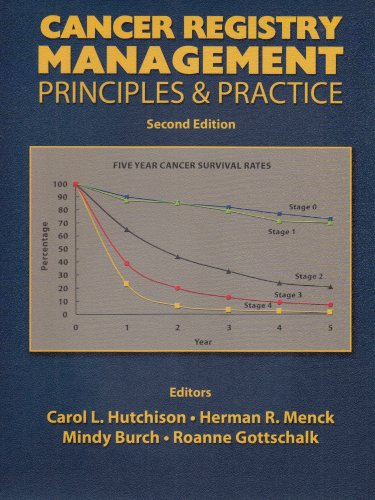 Cancer Registry Management Principles and Practice 2nd 2004 (Revised) 9780757501920 Front Cover