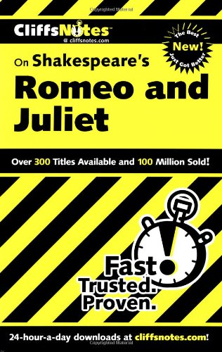 Shakespeare's Romeo and Juliet   2000 edition cover