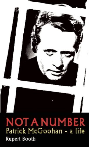 Not a Number Patrick McGoohan - A Life  2011 9780956632920 Front Cover