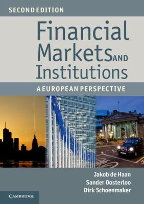 Financial Markets and Institutions A European Perspective 2nd 2012 9781107635920 Front Cover